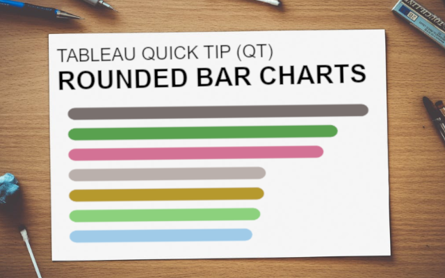Tableau QT: Rounded Bar Charts - Tableau Magic
