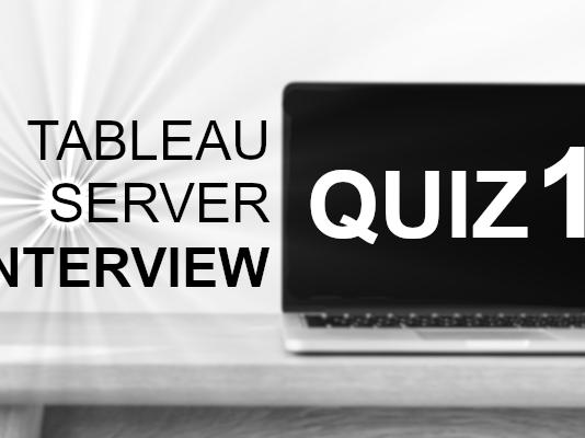 Tableau Server Quiz / 1 - Tableau Magic