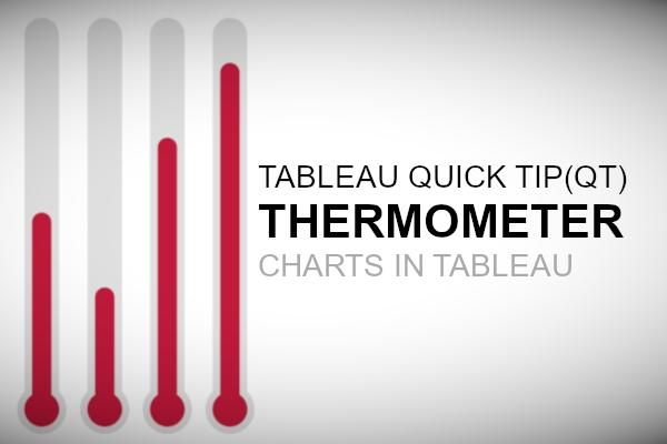 Tableau QT: Thermometer Chart - Tableau Magic