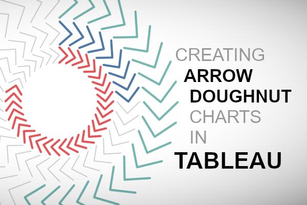 Arrow Doughnut Chart - Tableau Magic