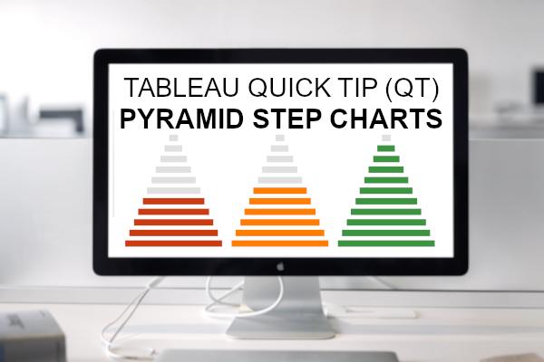 Tableau QT: Pyramid Step Chart - Tableau Magic